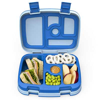 Bentgo Bento-Styled Durable Leak-Proof Kids Lunch Box