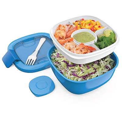 Bentgo Salad BPA-Free Lunch Container with Fork