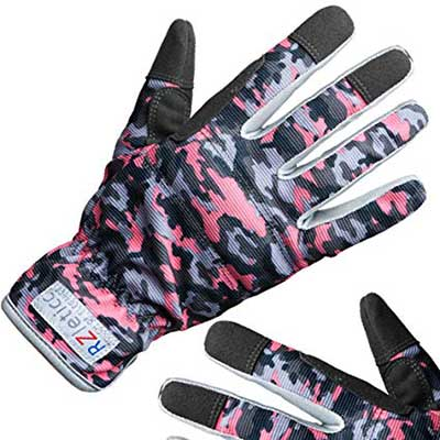 RZleticc Garden Women Gardening gloves for Roses & Yard Work
