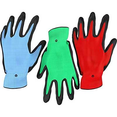 Vremi Heavy Duty Gardening for Men and Women Gloves