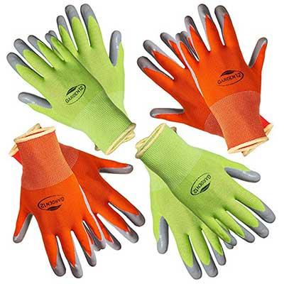 Garden12 Comfortable Working Gloves for Women