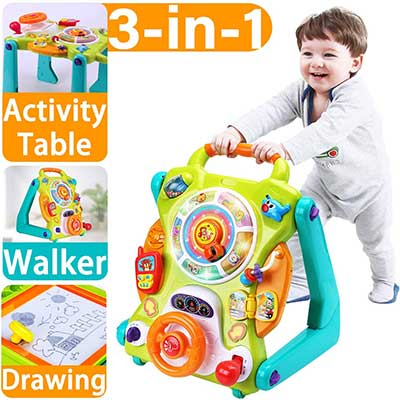 iPlay, iLearn Baby Sit to Stand Unisex Walkers Toys