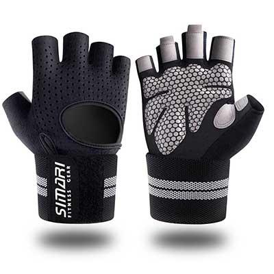 10. SIMARI Workout Gloves Unisex Training Gloves