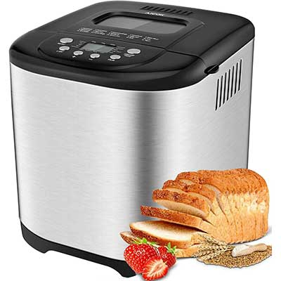 Aicok Automatic 2LB Programmable Bread Machine