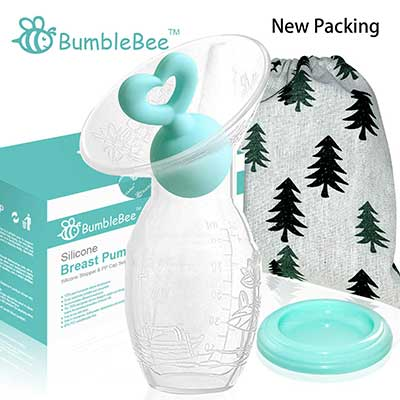 Bumblebee Manual Pump with Breastfeeding Milk Saver