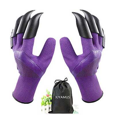 XJYAMUS Garden Genie Waterproof Garden Gloves