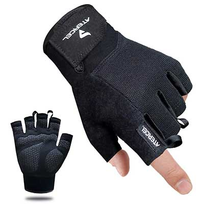 4. Atercel Workout Gloves for Weight Lifting