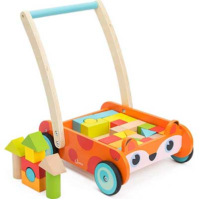 Cossy Wooden Baby Walker Toddler Toys
