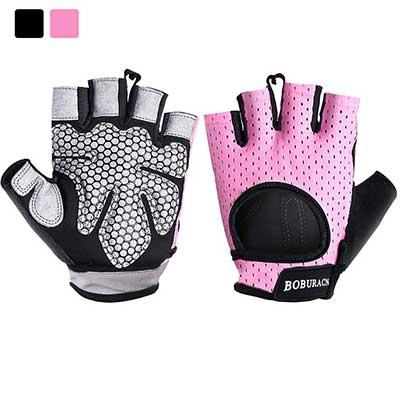 1. BOBURACN Workout Gloves for Women and Men
