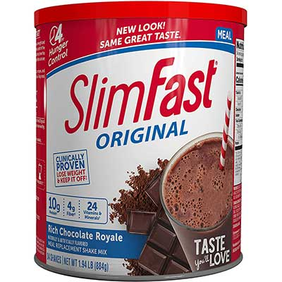 SlimFast Original Rich-Chocolate Royale Meal Replacement Shake-Mix
