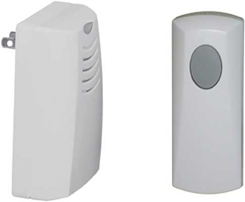 Honeywell Plug-in Wireless Doorbell & Push Button