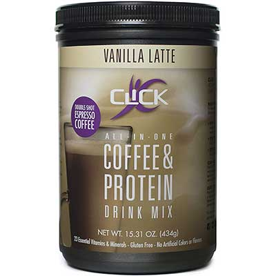 CLICK All-in-one Protein & Coffee Meal Replacement Drink Mix