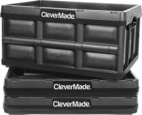 CleverMade 32L Collapsible Storage Bins