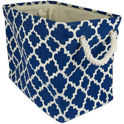 DII Collapsible Polyester Storage Basket or Bin