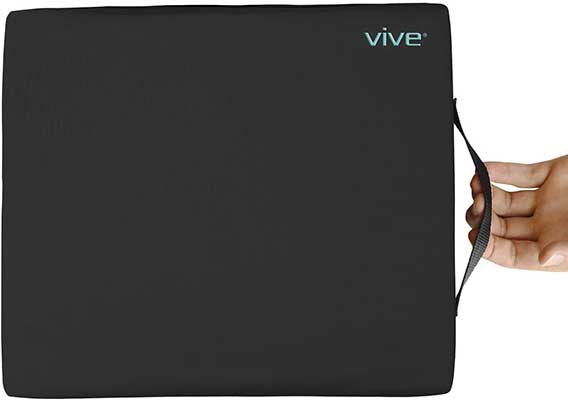 Vive 4 Layer Foam Wheelchair Gel Pad Cushion
