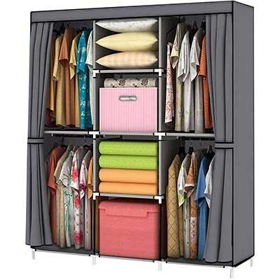 YOUUD Clothes Portable Wardrobe Storage