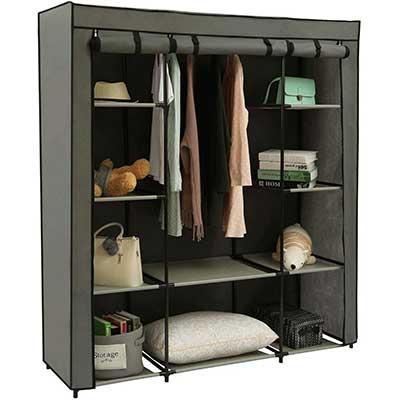 Homebi Clothes Organizer Closet Portable Wardrobe