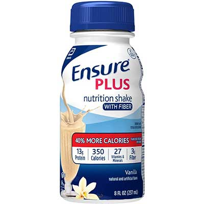 Ensure Plus Nutrition Shake with Fiber