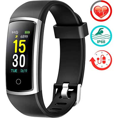 FITFORT Fitness Tracker with Blood-Pressure HR-Monitor