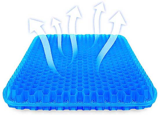 SUPTEMPO Thick Double Gel Seat Cushion