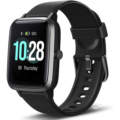 Letsfit Smart Watch Fitness Tracker Heart Rate Monitor