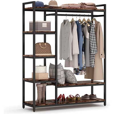LITTLE TREE Free-Standing Portable Closet Organizer