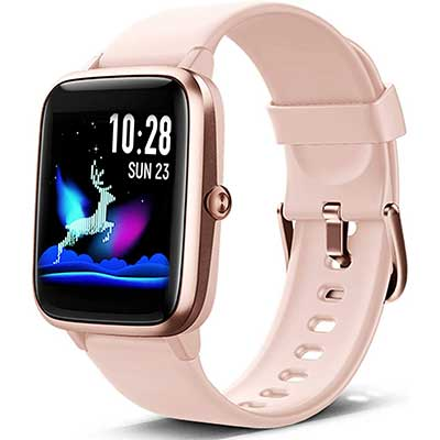 Lintelek Smart Watch, Full Touch Screen Smartwatch