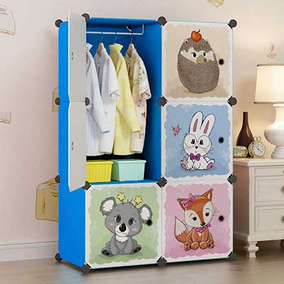 MAGINELS Portable Kid and Clothes Organizer Closet