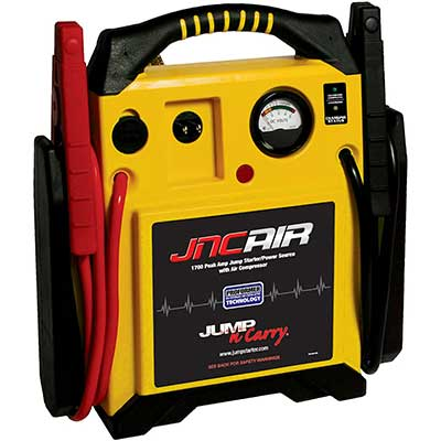 Clore Automotive Jump-N-Carry JNCAIR 1700 Peak Amp Jump Starter