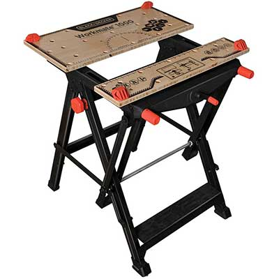 BLACK + DECKER Workmate Portable Workbench, 550-Pound Capacity