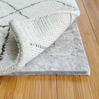 RUGPADUSA 100% Felt - Protective Cushioning Rug Pad