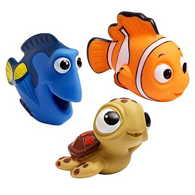 The First Years Finding Nemo Disney Baby Bath Squirt Toys