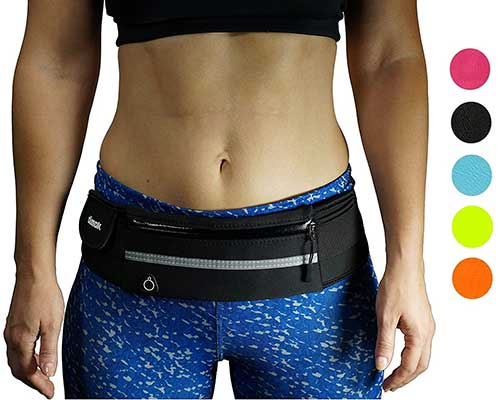 10.Dimok Running Belt Waist Pack