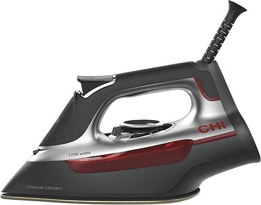 CHI Steam Titanium Infused Ceramic Soleplate Steam Iron