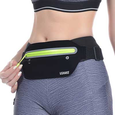 USHAKE Slim Running Belt