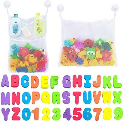 Comfylife Mesh Bath Toy Organizer