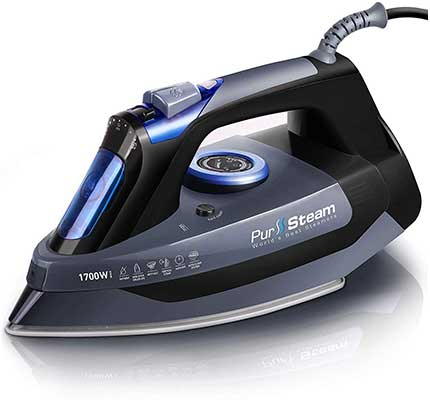 PurSteam Professional Grade 1700W Steam Iron