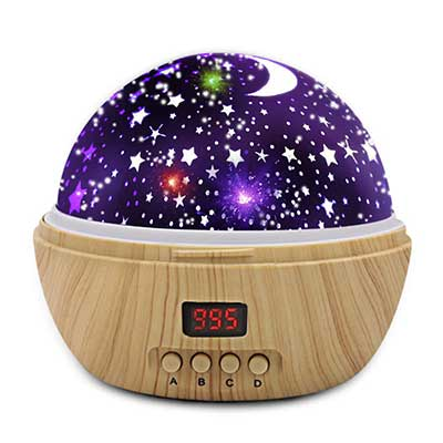 DSTANA Star Projector Night Lights with Timer