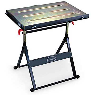 Eastwood Adjustable Steel Welding Table Strong Hold