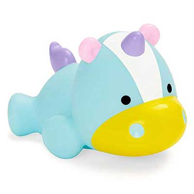 Skip Hop Bath Toys: Light Up Unicorn Squeeze Toy