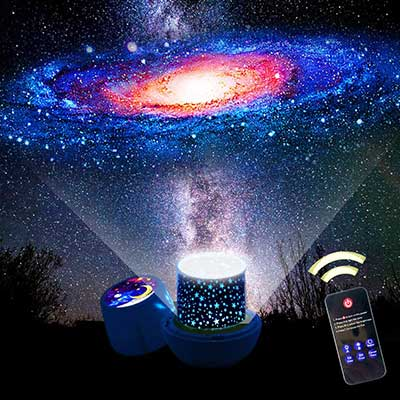 BNL Remote Control Star Projector with Remote Control