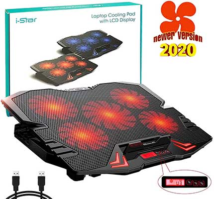 i-Star Laptop Cooler Cooling Pad Stand