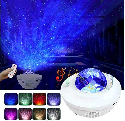 LBell 3 in 1 Star Projector with LED Nebula Cloud