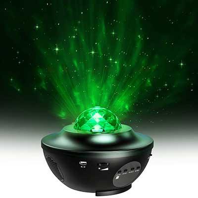 MiiKARE 2 in 1 Night Light Adjustable Light Projector