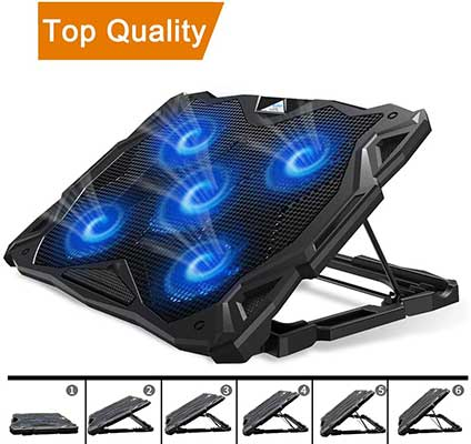 Pccooler Laptop Portable Laptop Cooling Stand
