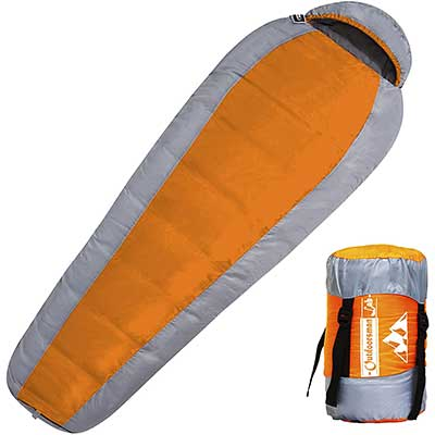 Outdoorsman Lab Sleeping Bag for Adults and Kids