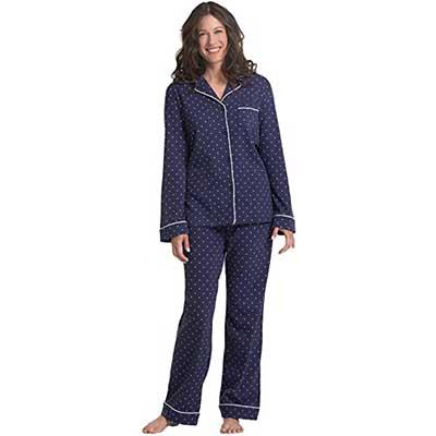 PajamaGram Women Cotton Jersey Pajamas