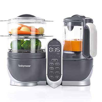 Babymoov 6 in 1 Food Processor Duo Meal Station Food Maker