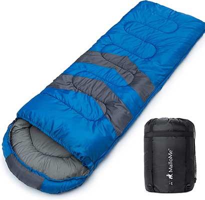 MalloMe Camping Sleeping Bag – 3 Season