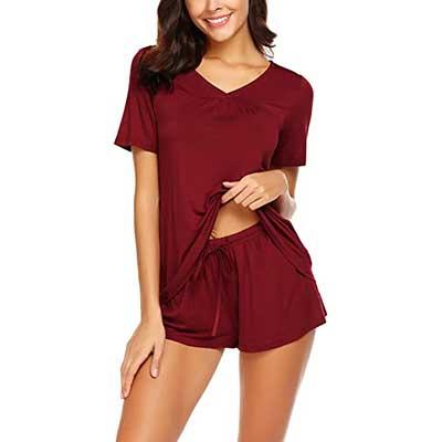 Avidlove Women's Short Sleeve Sleepwear Nightwear PJs